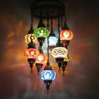 Woodymood Ceiling Mosaic Lamp 9 Ball, Moroccon Lamps $219.9 USD on eBay