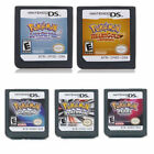 Pokemon Platinum Pearl Diamond Version Game Card For Nintendo Nds 3ds Dsi