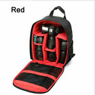 Waterproof DSLR SLR Camera Bag Compact Photograph Backpack Nikon Canon Sony