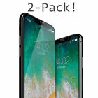iPhone X / XS / XR / XS Max Screen Protector, Quirkio [Tempered Glass] 2 PACKS
