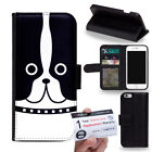 PIN-1 Art Cartoon Animals Face Series Phone Wallet Flip Case Cover for Oppo