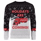 New Coca-Cola Coca-Cola Truck Christmas Jumper Black By OZSALE $34.99  on eBay