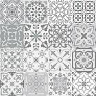 Grey Mosaic / Pattern Tile Stickers For 150mm X 150mm / 6x6 In 4x4 In T176