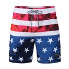 Beautiful Giant Men's American Flag Patriotic Board Shorts with Mesh Lining