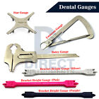 MEDENTRA Dental Gauges Bracket Positioning Measuring Height Gauge Caliper Crown
