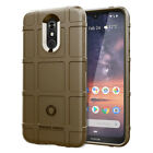 For Nokia 3.2 4.2 7.1 Plus Luxury Shockproof Soft Rugged Shield Case Back Cover