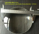 1PC Optics Glass large Double Convex Lens concentrating Magnifying Glass
