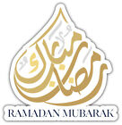 Ramadan Nubarak Religion Symbol Car Bumper Sticker Decal ''SIZES''