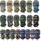 US Ultra UV Sun Protection Cycling Hunting Printed Camo Full Face Mask Balaclava