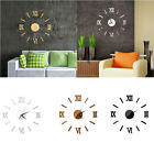 Modern 3d Diy Living Room Clocks Acrylic Wall Clock Antique Home Kitchen Decor