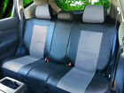 Leather Like Rear Split Zip Type Car Seats Covers for Dodge Black/Grey #255 $45.0 USD on eBay