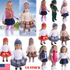 Doll Clothes Pajames Laceskirt for 18