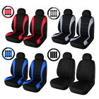 Universal Car Seat Covers Front Auto Seat Cover Head Rest Cover Set Seat Cover $14.99 USD on eBay