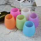 Portable Silicone Wine Cup Travel Picnic hiking Camping Water Beer Drinkware BW