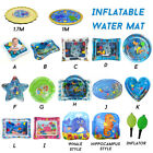 Inflatable Baby Water Play Mat Pad for Kids Infants Tummy Time Outdoor Lawn
