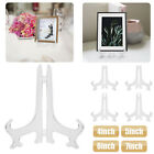 """5 Pack 4-7"""" Easel Display Stand Plate Holder Picture Photo Frame Art Decor US"""