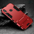 For Samsung Galaxy A70 A50 A30 Hybrid Rugged Armor Shockproof Case Stand Cover