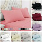 Bed Sheet Set 1800 Bedding Sheets Hypoallergenic Deep Pockets Microfiber 4 Piece image