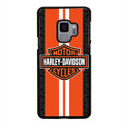 HARLEY DAVIDSON ORANGE LOGO Samsung Gal Note S5/6/7/8/9/Edge/+ Phone Case Cover $15.9 USD on eBay