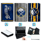 Buffalo Sabres Leather Women Wallet Purse Card ID Coin Holder $13.99 USD on eBay
