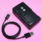 UPGraded Sporting 3270mAh Battery or Travel Charger for LG Optimus F6 D500 MS500