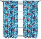 """Official Licensed Character Pleated Curtains 54"""" or 72"""" Drop Disney Boys Girls"""