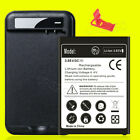 4670mAh Replacement BL-44E1F Battery or Wall Charger for LG Stylo 3/Stylo 3 Plus