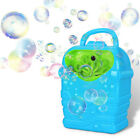 Bubble Machine Kids Durable Automatic Bubble Blower Outdoor Toy for Girl Boy