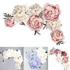 Blossom Peony Flower Wall Sticker Floral Bedroom Home Wall Decor Art Mural Decal