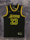 Brand New Mens/Youth Lebron James 23 Black Los Angeles Lakers Stitched Jersey