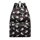 Unicorn Girls Shoulder Canvas Backpack Rucksack School Travel Laptop College A4