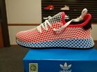 Внешний вид - BRAND NEW IN BOX ADIDAS ORIGINAL GS BOY JUNIOR WMN DA9610 DEERUPT RUNNER J