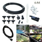 Купить 19.6FT/30FT/50FT Outdoor Misting Cooling System Garden Water Mister Nozzles Set