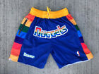 MEN'S Denver Nuggets Vintage Throwback Basketball Shorts Sizes S M L XL 2XL