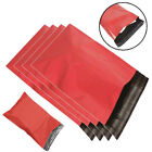 Red Mailing Bags Postal Poly Postage Plastic Parcel Shipping Royal Mail ALL SIZE