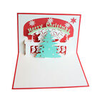 3D Pop Up Card Christmas Birthday Wedding Valentine Greeting Cards Invitations