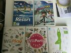 Pal Nintendo Wii Games, Wii Party, Wii Fit, Wii Sports Resort, Wii Play, Working