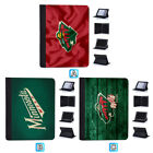 Minnesota Wild Leather Flip Case For iPad 1 2 3 4 Mini Air Pro 9.7 10.5 $20.99 USD on eBay