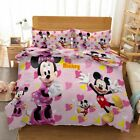 Pink Love Mouse 3D Printing Duvet Quilt Doona Covers Pillow Case Bedding Sets image