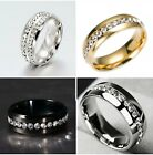 8MM Stainless Steel Ring Band Titanium Men's SZ 6 to 12 Wedding Rings image