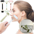 Face Body SPA Massage Roller Facial Massager Jade Stone Anti-aging Therapy image