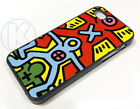 ar0720 - Keith Haring Screenprint 1985 Case Cover fits Apple iPhone 6 7 8