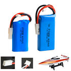 7.4V 1500mAh 3000mah Lipo battery For FT009 Remote Control Boat Speedboat