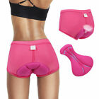 3D GEL Padded Bike Bicycle Cycling Underwear Shorts Pants Comfortable for Women