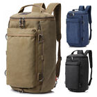 Kyпить Men Canvas Shoulder Bag Military Backpack Camping Travel Duffle Luggage Handbag на еВаy.соm
