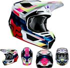 New 2020 Fox Racing Youth V2 Kresa Helmet Multi-Colored All Sizes UTV ATV MX