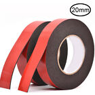 Black Double Sided Acrylic Foam Adhesive Heavy Duty Mounting Tape 6/8/10/15/20mm