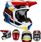 New 2020 Fox Racing V1 Yorr Helmet Blue/Red All Sizes UTV ATV MX