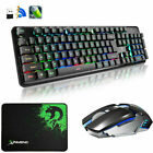 2.4G Wireless Rechargeable Blue LED USB Gaming Keyboard and Mouse Set XM-620