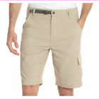 Gerry Men's Venture Flat Front Stretch Cargo Short 5 Pocket 32 34 36 38 40